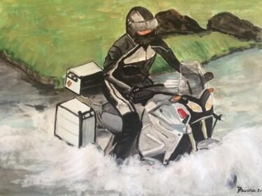 Mr Man on his Yamaha